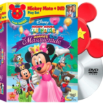Mickey Mouse Clubhouse: Minnie's Masquerade DVD RELEASED!