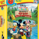 Disney MICKEY MOUSE CLUBHOUSE: MICKEY'S GREAT OUTDOORS DVD!