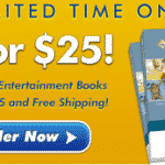 Entertainment Book Deal! Get 2 coupon books for $15 after cash back!