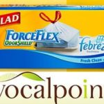 Join Vocalpoint! FREE Glad Odorshield w/Febreze Forceflex Trash Bags.