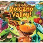 "New Dinosaur Train book, Dinosaur Train Lift the Flap ""Let's Go To Volcano Valley!"