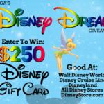WIN $250 DISNEY GIFT CARD FROM TANGA.COM!