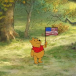 HAPPY 4TH OF JULY EVERYONE! FROM ME AND WINNIE THE POOH!