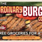 Johnsonville No Ordinary Burger Contest!