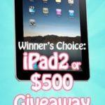 Increase Your Followers: Social Media Boost iPad2 #Giveaway!