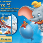 Dumbo 2-Disc Blu-ray Coupon! Out September 20!