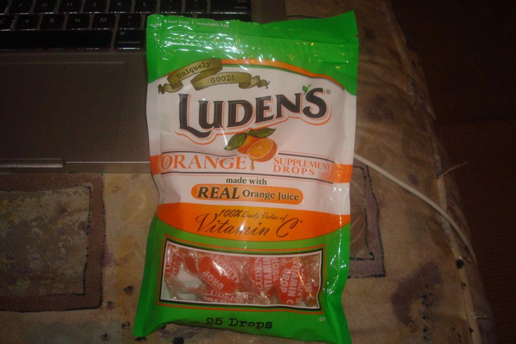 Get Vitamin C with Luden's® Orange Supplement Drops! #REVIEW