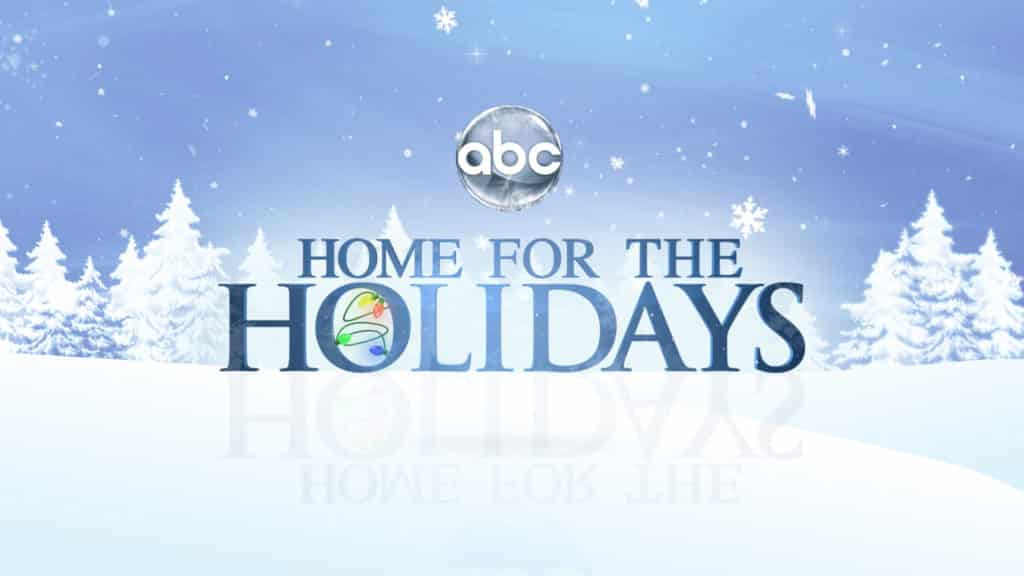 I m also watching abc for the holidays are you tv