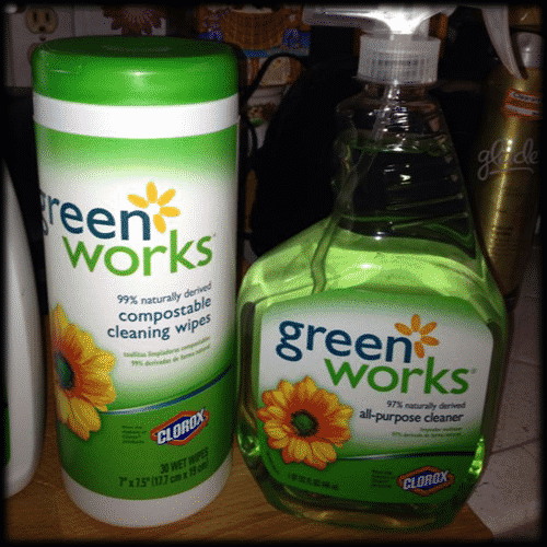 Attractive I Also Use The Green Works All Purpose Cleaner Four Our Kitchen Counter ...