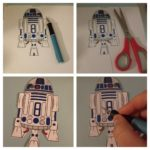 Make An R2 D2 BOOKMARK & Make Reading Fun! #Crafts #Frugal