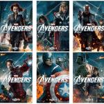 HOT NEW Character Banners for MARVEL'S THE AVENGERS! #disney #marvel #avengers
