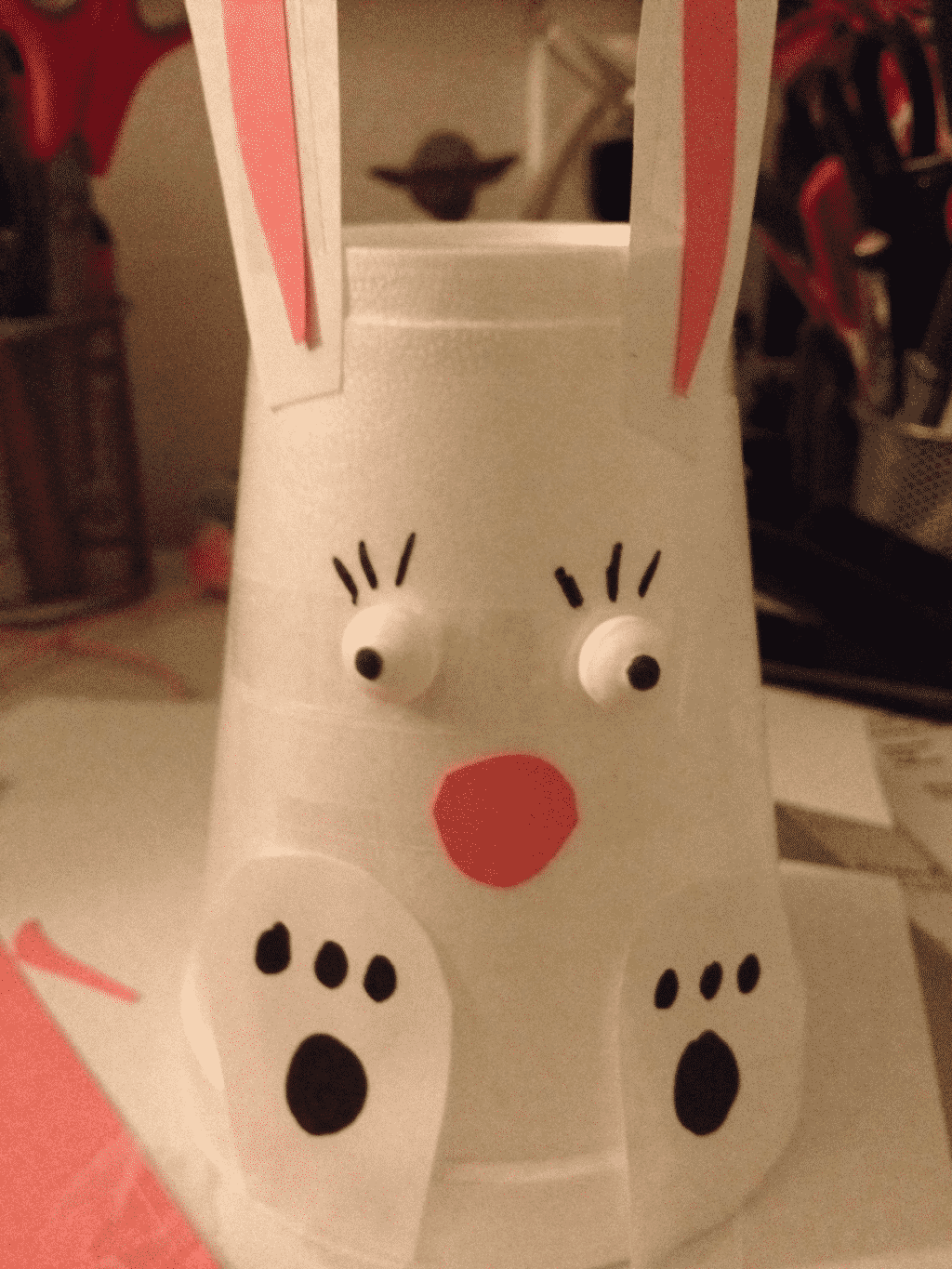 DIY Easter Bunny Craft for kids