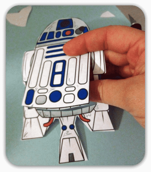 5f2a992426071 Make An Star Wars R2D2 BOOKMARK Craft