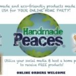 CLOSED-Handmade Peaces and $150 Amazon Gift Card Giveaway! #Win #Giveaway