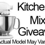 CLOSED-Amazing KitchenAid Mixer Giveaway! #Giveaway #Win #KitchenAid