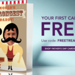 Free Father's Dad Card at TREAT.COM! #SWAG #FREE #HOTDEAL
