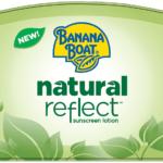 Banana Boat Natural Reflect Sunscreen Lotion: 101 Days of Summer Play! #Summer #Safety