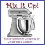 Mix It Up KitchenAid Mixer Giveaway! #Summer #Win #Giveaway