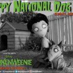 FRANKENWEENIE & National Dog Day this Sunday, August 26th! #Disney #Movie