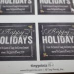 Closed-The Perfect Holiday Cards On TinyPrints.com! #HolidayGiftGuide #Feature & #Giveaway