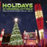 The Holidays Kick Off at Universal CityWalk With Tree Lighting! #HolidayGiftGuide #Feature