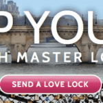 Lock Up Your Love With Master Lock! Send A Virtual Love Lock!