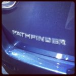 Checking Out The NISSAN Pathfinder At The LA Car Show! #NissanEspanol #NissanPathfindr