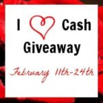Win The $500 and $50 I Heart Cash #Giveaway