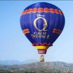 Take A Journey to OZ With The Balloon Tour! #DisneyOz