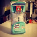 Keeping Germ Free With LYSOL NO Touch Hand Soap!