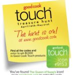 Closed-The Good Cook Touch Treasure Hunt Is Here!