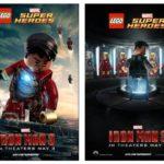 Geektastic Iron Man 3 Lego Poster! #IronMan3 #Marvel