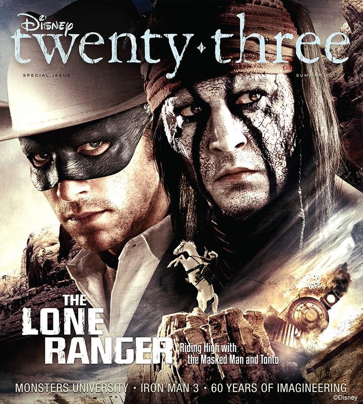 Disneytwenty-three_5.2-Summer2013.Cover-LoneRgr-Sm