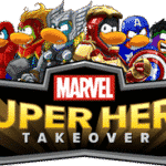 Marvel Super Heroes Take Over Club Penguin! #Disney #ClubPenguin