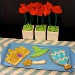 Flower Craft & Cookie Recipe Inspired By Disney Oz The Great & Powerful. #DisneyOzMovie