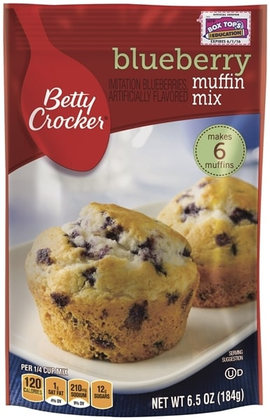 Blueberry Muffin Package