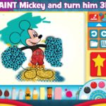 New Mickey Mouse Clubhouse Paint and Play App! #disneygame