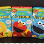 S is for Strawberry Joins Sesame Street Cereals!