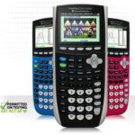 Texas Instrument TI‑84 Plus C Silver Edition Graphing Calculator!