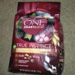 Your Dog's Natural Instinct & Purina ONE SmartBlend True Instinct dog food!