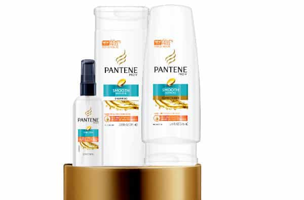 Pantene Smooth products