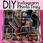 Easy DIY StickyGram Photo Tray Using Instagram Photos!