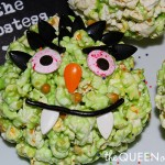 Marshmallow Caramel Halloween Popcorn Balls Recipe!