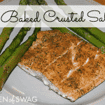 Easy Baked Crusted Salmon Recipe & Giveaway!