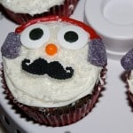 Snowman Cupcakes #Recipe and A Great Sweet Creations Cupcake Carrier! #HolidayGG13