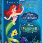 The Little Mermaid II & The Little Mermaid: Ariel's Beginning On Blu-Ray Now!