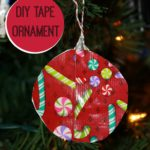 Easy Duck Brand® Holiday Ornament Craft! #DuckTheHalls