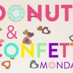 Donut Jewelry, Big Donuts, And Confetti Print Shirts Are Just Fabulous! #Donut&Confetti
