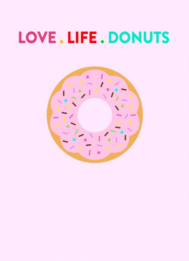 live-life-donuts-print