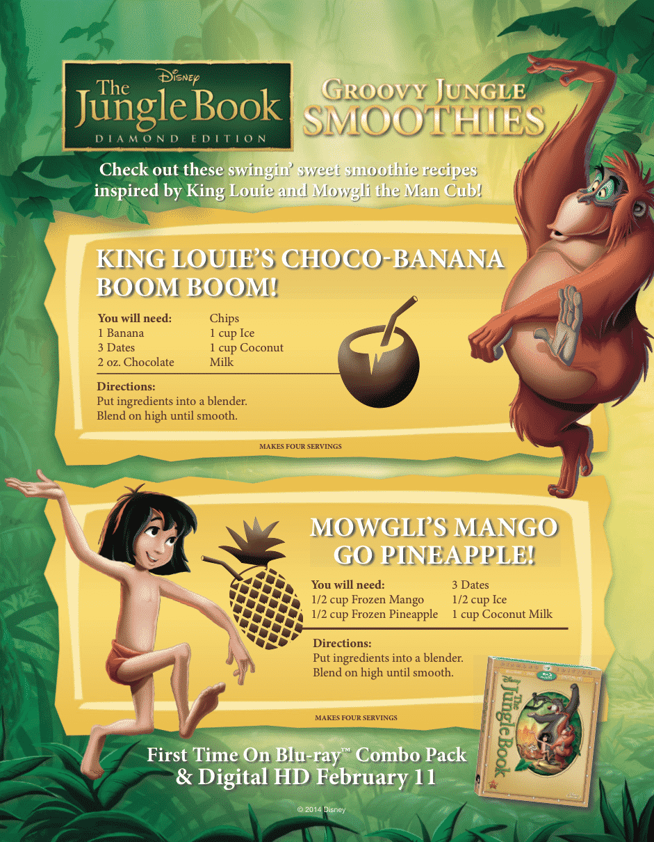 jungle book recipes